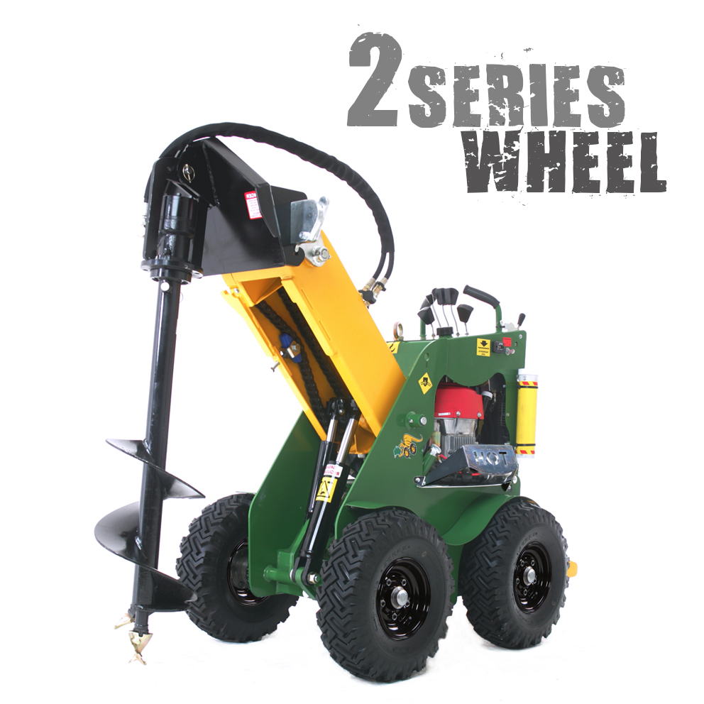 KANGA KID Petrol Wheel Mini Loader