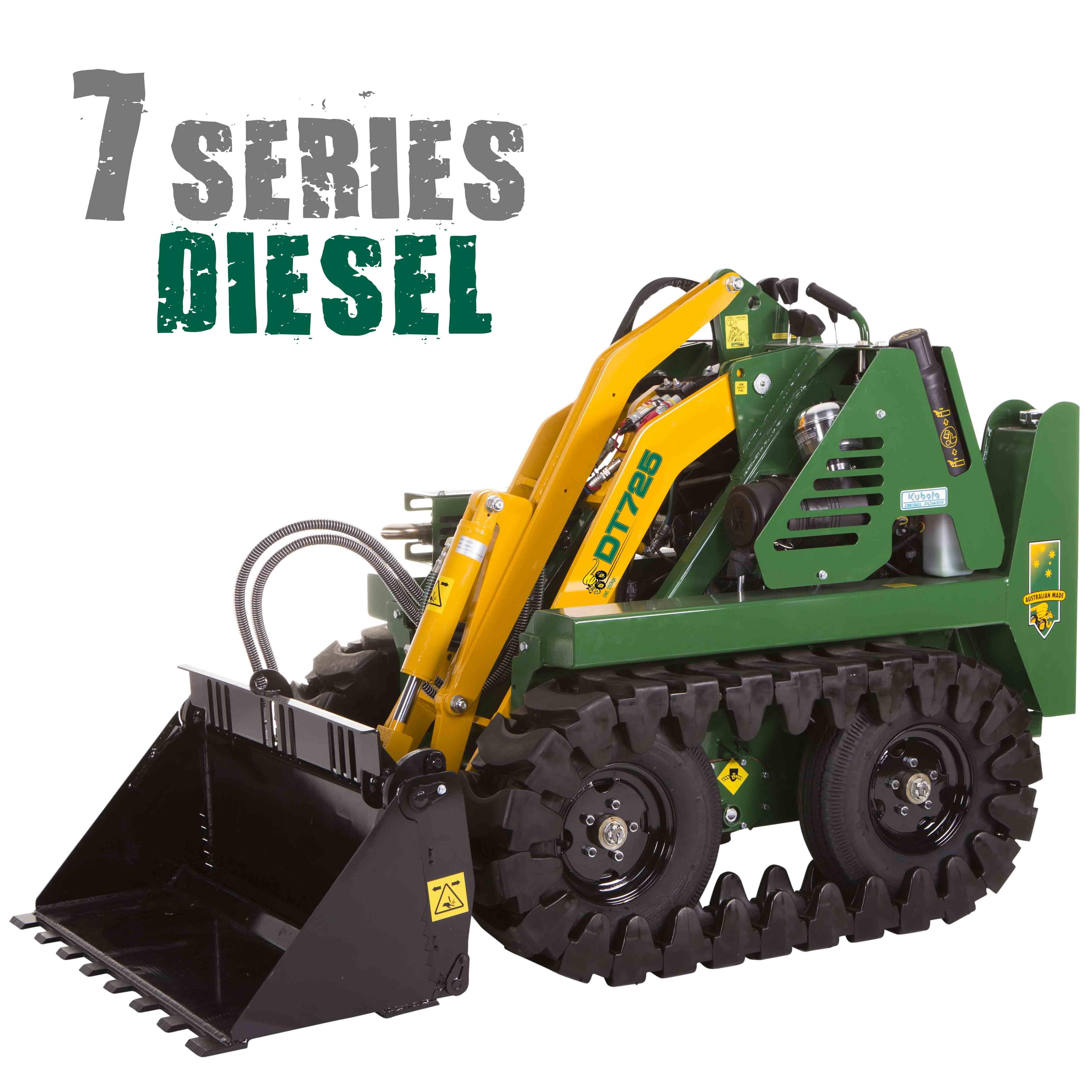 KANGA 7 SERIES Diesel Track Loader