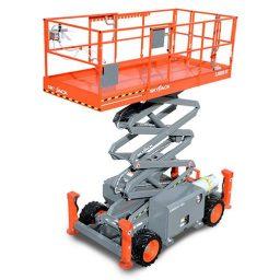 Skyjack SJ6826RT 26 Foot Rough Terrain Scissor Lift