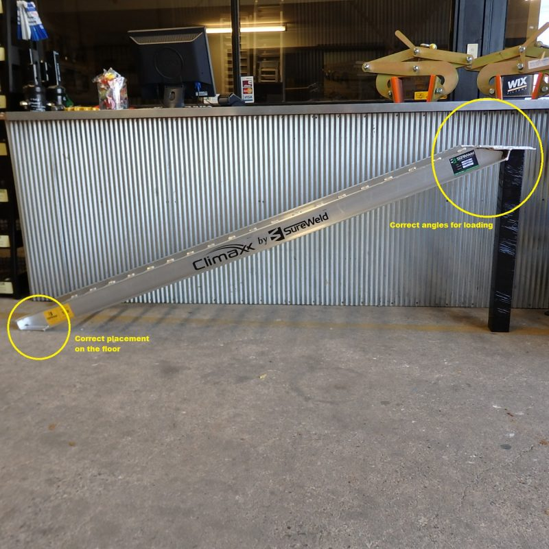 Aluminium Ramp Heights | Are ramp heights critical for your application