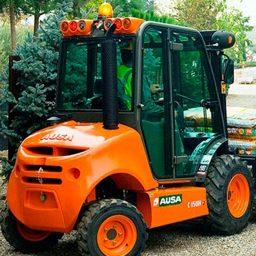 Ausa C150 Rough Terrain Forklift