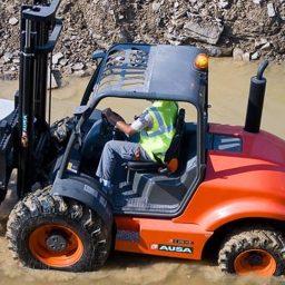 Ausa C300 -350 Rough Terrain Forklift