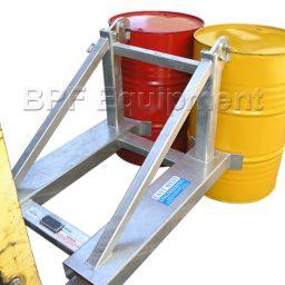 Forklift Drum Handler 2 Drum Style