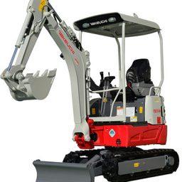 Takeuchi TB217R 1.7 Tonne Excavator