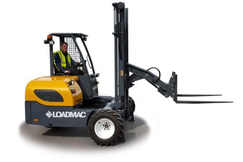 loadmac 825 truck mounted forklift