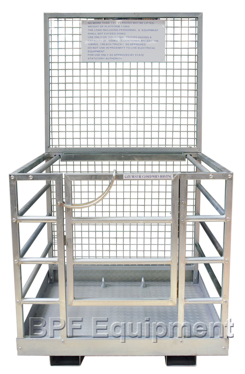Forklift Safety Cage   Forklift Cage   Man Cage   Mesh & Rail