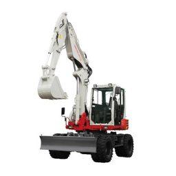 Takeuchi TB295W Wheeled Excavator